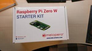 RasPi Zero Starter Kit Front