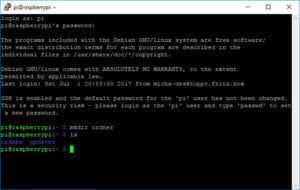 SSH-Befehle mkdir