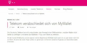 Telekom myWallet