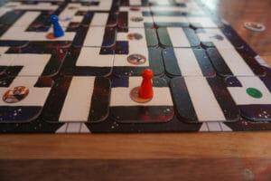 Star Wars Labyrinth - Großaufnahme Spielbrett
