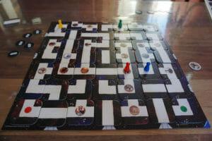 Star Wars Labyrinth - Spielbrett im Spiel