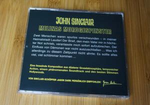 John Sinclair SE06 - Rückseite