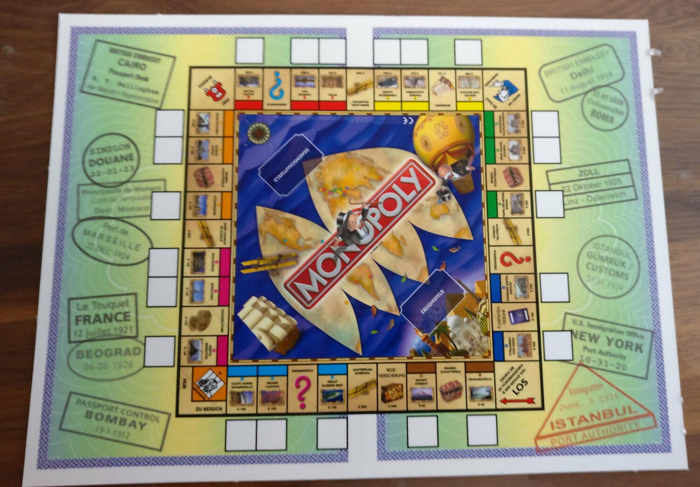 Monopoly Weltreise Geld