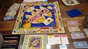 Monopoly Weltreise im Spiel