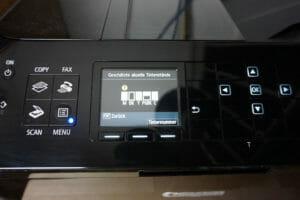 TonerPartner.de Tintentest - Füllstand Canon-Drucker