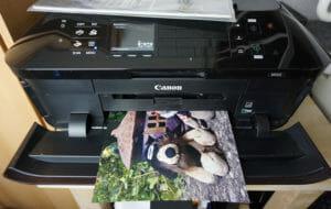 TonerPartner.de Tintentest - Drucktest mit Canon-Patronen