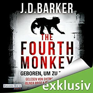 The Fourth Monkey - Geboren um zu töten - Hörbuch - couchpirat.de