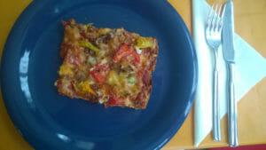 Fertige LowCarb-Pizza Seebär