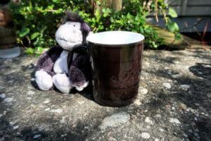 Smartphoto.de Kaffeetasse, in kaltem Zustand schwarz