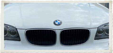 Beitragsbild Front meines lieben BMWs